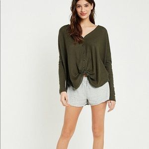 UO our from under JoJo thermal green small